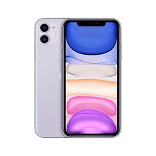 "Grade A2 Apple iPhone 11 Purple 6.1"" 64GB 4G Unlocked & SIM Free A2/MWLX2B/A/MV"
