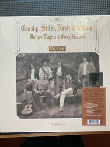 Crosby,Stills,Nash & Young Deja Vu Alternates LTD EDITION VINYL LP free post in