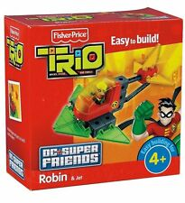 Robin Helicopter Heli Batman Trio DC Super Friends Konstruktion Fisher Price
