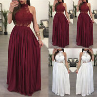 Women Boho Casual Long Maxi Dress Evening Party Beach Dresses Summer Sundress