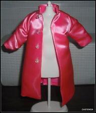 TOP BREAKFAST AT TIFFANY'S BARBIE DOLL AUDREY HEPBURN  SATIN JACKET COAT CLOTHES