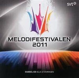 Various - Melodifestivalen 2011 - CD Album - 2011