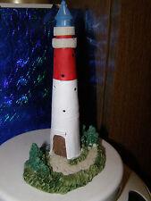 Leuchtturm Büsum Nordsee 15 cm hoch Polyresin (Kunststein) (NEU)