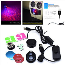 Car SUV Ceiling Star Light LED Atmosphere Projector Lamp Galaxy + Remote Control