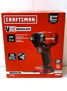 Craftsman 20V 3/8 inch Impact Wrench Brushless CMCF920B New & Sealed (Tool Only)