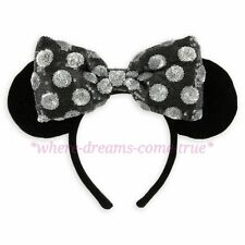 Disney Parks Minnie Mouse Ear Headband - Swap Your Bow (NEW)