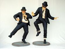 Life Size Fiberglass Blues Brothers Statue Set Museum Quality!!!!!