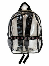 Official Nascar Member Track Day See-through Clear Backpack