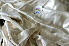 Bty Rare Antique Solid Silver 1920s Lamé Brocade Fabric~Museum Deaccession~5yds
