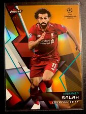 2019 Mohamed Salah Topps Finest UEFA Champions League /25 🏆 Liverpool 🏆Mo