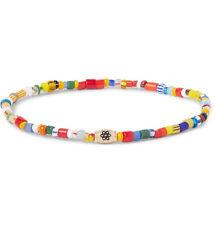 LUIS MORAIS Glass Bead Gold Bracelet 1BRCCYB JOSEPH Multi Color Barrel