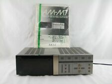 Akai AM-M7 Stereo Integrated Amplifier w/ Original Manual  Parts Or Repair Only