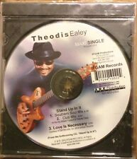 SOUL-BLUES CD EP: THEODIS EALEY Stand Up In It/club mix/Love Is Necessary IFGAM