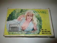 ANCIEN POSTE RADIO VINTAGE MW LW Model SE - 700 par ANNABEL Made in HONG KONG