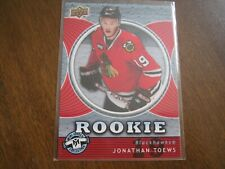 07-08 UD Mini Jersey Collection Rookie #110 JONATHAN TOEWS blackhawks