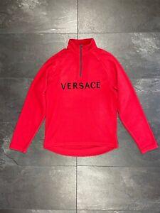 Versace t-shirt vintage pullover sweater  fleece sweatshirt sleeve