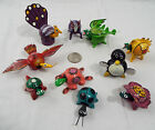 Lot of 10 Assorted Bobble Head Animals Various Colors Peacock Dragon Penguin