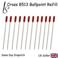 RED X12 12 CROSS COMPATIBLE 8513 BALL POINT PEN REFILL INK