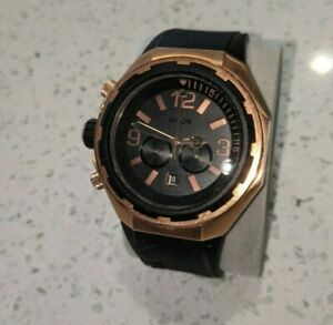 Nixon Steelcat Quartz Movement Black Dial Men's Watch A3131098-00