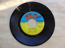 """David T Walker - Love Vibrations / Doo Doo 7"""" Mint- ZEA 50005 Vinyl 45 RPM"""