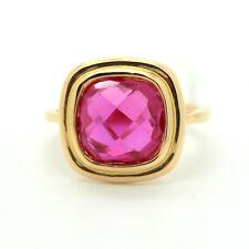 750er 18kt Rosegold, Ring mit einem Rubin