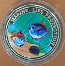 Ghana 10 Sika 1997 Marine Life Protection Coral Reef Fishes