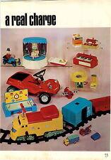 1970 ADVERT 7 PG Battery Operated Toys Article Bandai VW Aurora Matchbox Hasbro