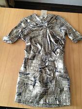 Isabel Marant für H&M Kleid seide  Gr. 34 XS NEU