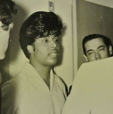 1950's Little Richard Original 8 x10 Back & White Candid Photo Radio Station? #5
