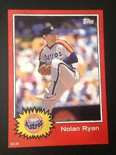 2015 Topps Star Wars Tribute 5x7 (#D /49 Made) NOLAN RYAN Astros #4