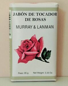 Rose Soap by Murray & Lanman [All Sealed]