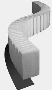 """Woodland Scenics ST1409 4"""" x 2' Long. Riser (x2) - Neu - OVP"""
