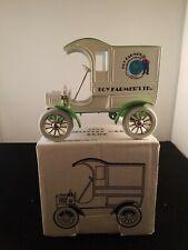 ERTL1905 Delivery Car Bank TOY FARMER LTD. Farmers Almanac NEW NIB E1196