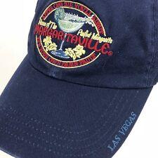 Margaritaville Las Vegas Hat Baseball Cap Blue Cotton Adjustable One Size 2b51fdb50734