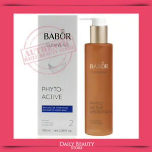 Babor Cleansing Phytoactive Hydro Base 100ml 3.38oz SEALED NEW FAST SHIP
