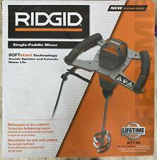 Ridgid R7135 Single-Paddle Corded Mixer - New!