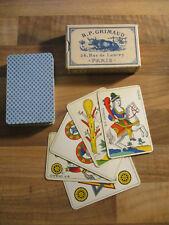 Kartenspiel 48 Blatt B. P. Grimaud 54 Rue de Lancry Paris Frankreich