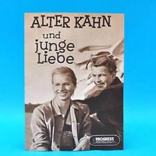 """429 Progress-Filmillustrierte 15/1957 """"Alter Kahn und junge Liebe"""" DDR G. George"""