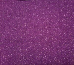 Autumn Harvest BTY Possibilities Quilting Treasures Tiny Green Dot Purple