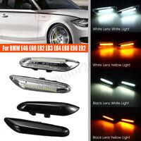 Paire LED Feux Position Latéral Clignotant pour BMW E46 E60 E82 E88 E90 E92 E93