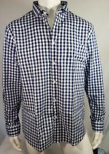 Onfire Mens Cotton Gingham Long Sleeve Cotton Shirt Size XL 2XL BNWT RRP £29.99