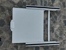 MANIGLIA Porta Grafite Kit Per Lavatrice Hotpoint Asciugatrice Grigio 9373c