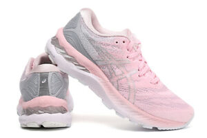 Women's ASICS  GEL-NIMBUS 23 Cushioning Breathable Running Athletic Sport Shoes