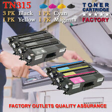 1SET TN315 BK/C/Y/M Combo Color Toner For Brother DCP-9270CDN MFC-9970CDW lot