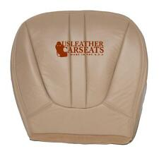 1997 1998 Ford Expedition Eddie Bauer 4WD Driver Bottom Leather Seat Cover Tan