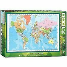 Eurographics Map of The World 1000pc Puzzle Eur61271
