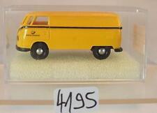 Brekina 1/87 Volkswagen Bulli VW T1a Kasten DBP Post OVP #4195