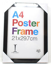 Black Wooden A4 Poster Picture Photo Frame Cerificate Display Framing Home Decor