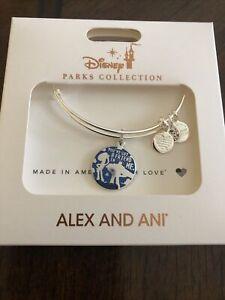 Disney Parks Alex and Ani Toy Story Friend in Me Woody Buzz Silver Bracelet