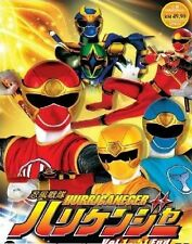 DVD Super Sentai Series Hurricaneger (TV 1 - 51 End) DVD + Free Gift